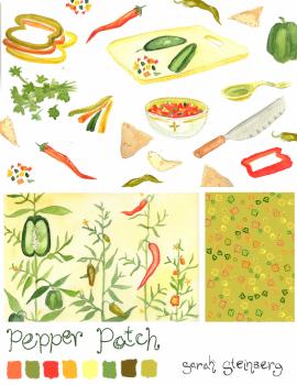Pepper Fabric & Coordinates