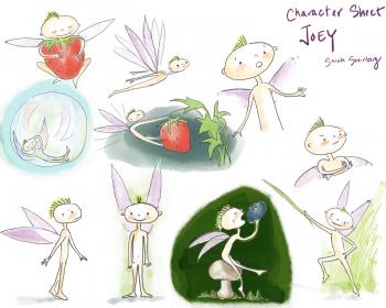 Graphic Novel Character Sheet